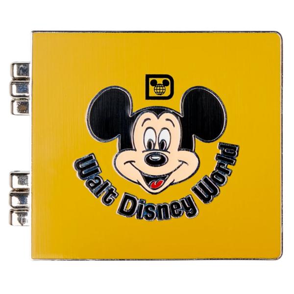 Mickey Mouse Photo ablum – Walt Disney World 50th Anniversary pin