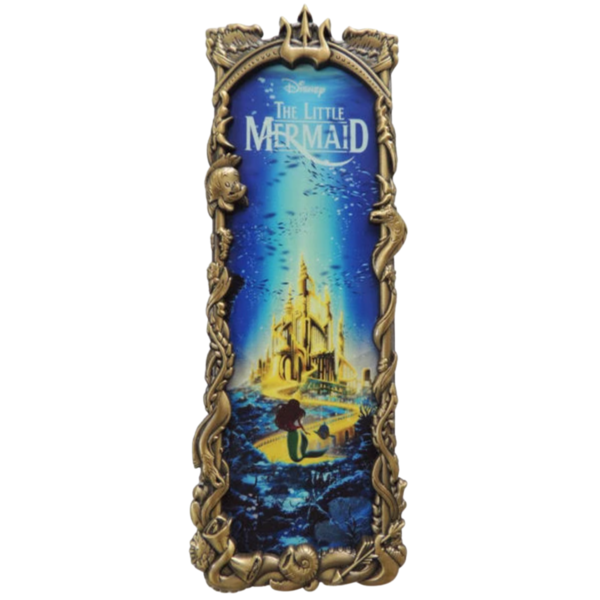 The Little Mermaid - Ben Harman framed - Artland pin