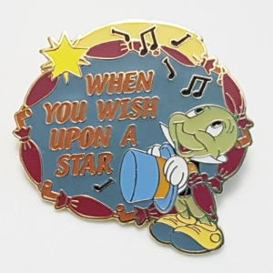 """Magical Musical Moments No. 97 - Pinocchio - """"When you Wish Upon a Star"""" pin"""