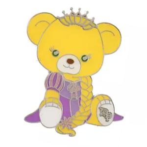 Glanzen Rose - UniBEARsity Princess Bear Pin Badge Set UniBEARsity 10th ANNIVERSARY pin