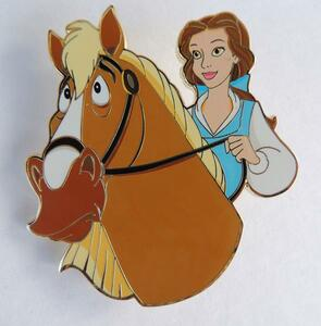 Belle & Phillipe Artland UK pin