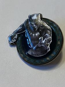 Black Panther (throwing punch) pin