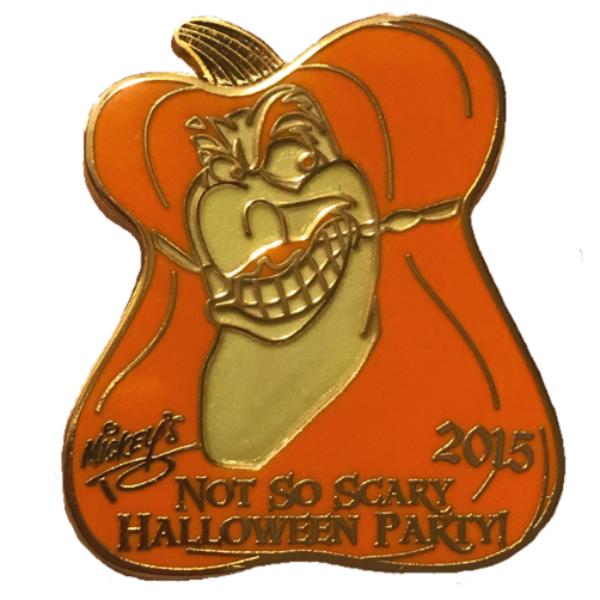 MNSSHP 2015 Mystery Pumpkin Pack - Captain Hook pin