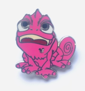 Pink Pascal - Hidden Mickey Colorful Pascal pin