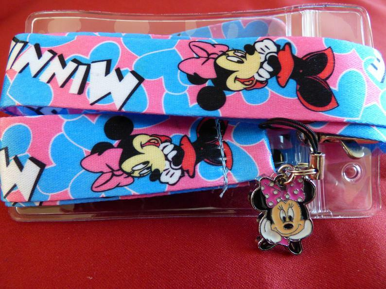 An unofficial Minnie Lanyard (from Etsy)