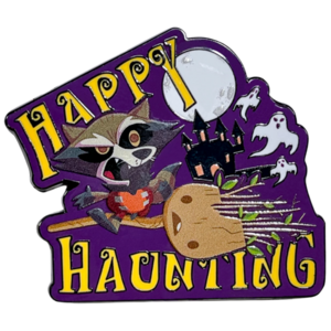 Halloween 2021 - Rocket and Groot pin