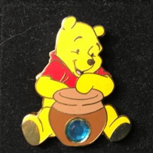 DS - 12 Months of Magic - Birthstone - December/Zircon pin