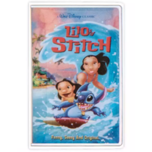 Lilo & Stitch VHS cover pin