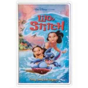Lilo & Stitch VHS cover pin
