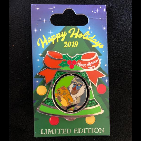 Animal Kingdom Lodge Happy Holidays pin