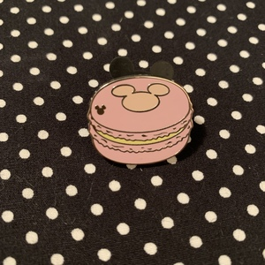 Pink - Hidden Mickey Macarons pin