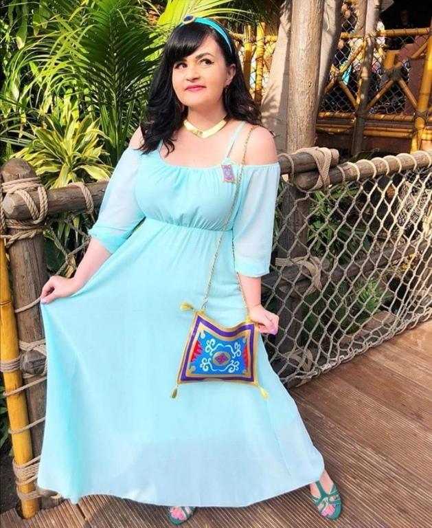 Princess Jasmine from Aladdin.