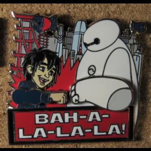 Baymax and Hiro - Love is Teamwork pin
