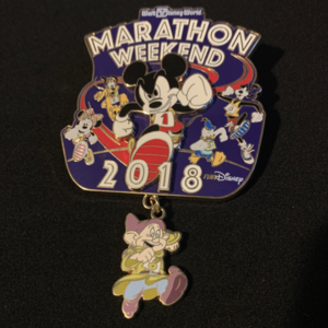 Marathon weekend 2018 pin
