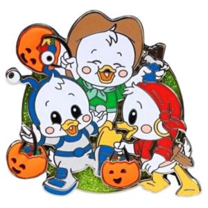 WDW - Halloween 2020 - Trick or Treat Cuties - Huey, Dewey, and Louie pin