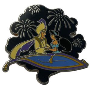 Night Sky Magic Carpet - Jasmine and Aladdin pin