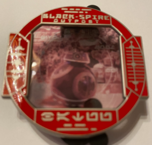BB-9E @ Black Spire Outpost pin