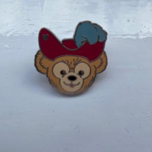 Duffy hats - Captain Hook pin