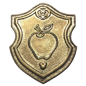 WDW - 2018 Hidden Mickey: Wave B - Princess Emblem Crest - Snow White's Apple (Chaser 4 of 5) pin