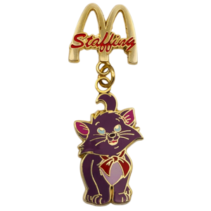 McDonald's Staffing - Berlioz pin
