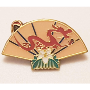Mulan Fan - Loungefly Blind Box Pins pin