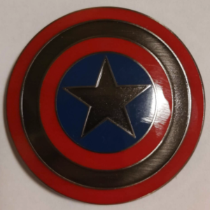 Captain America circle logo HKDL pin
