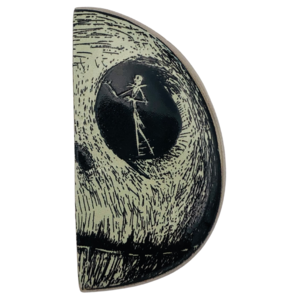 Jack and Sally in Skull (Set) - Jack only pin