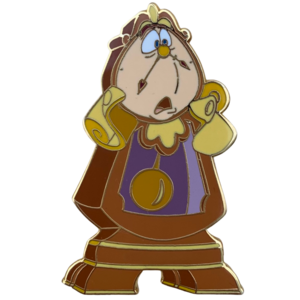 Beauty and the Beast Gallery Series - Cogsworth pin