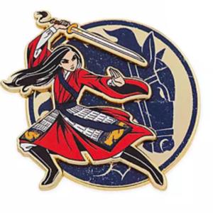 Mulan live action horse profile pin