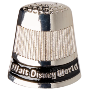 Walt Disney World Thimble Spoon – Walt Disney World 50th Anniversary pin