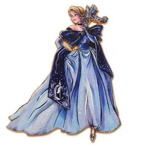 Cinderella Designer Masquerade  pin