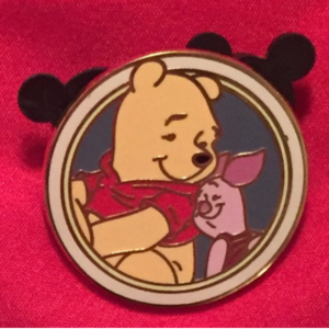 Winnie the Pooh and Piglet - Disney's Best Friends Mystery Collection pin