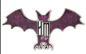 Haunted Mansion Bat pin
