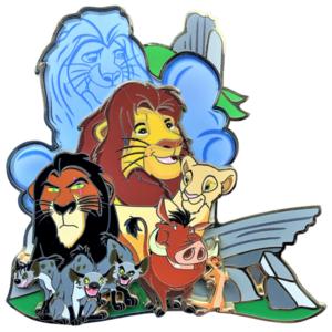 Lion King - Competition Winner - Artland pin