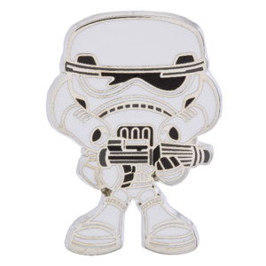 Stormtrooper cute pin