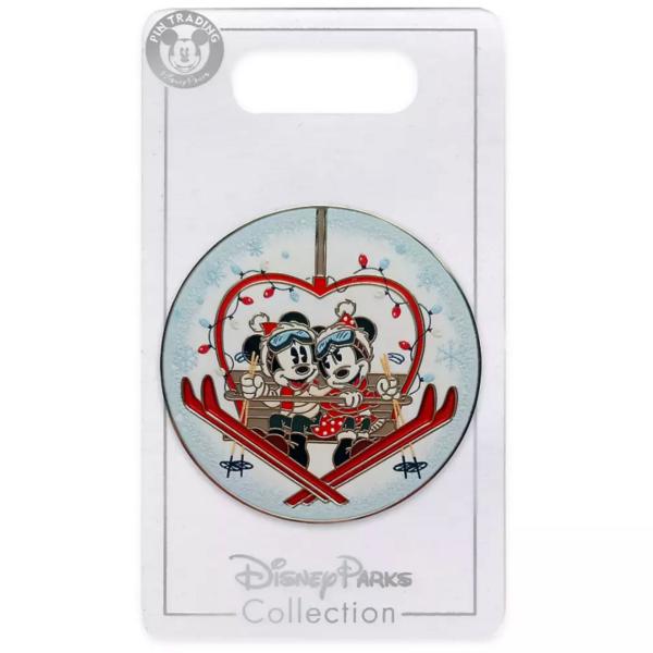 Mickey and Minnie ski lift - Disney Store 2021 pin