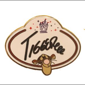 HKDL - Name Tag - Mystery Collectable Pin (5 Pin Tin) - Tigger pin