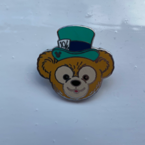 Duffy hats - Mad Hatter pin