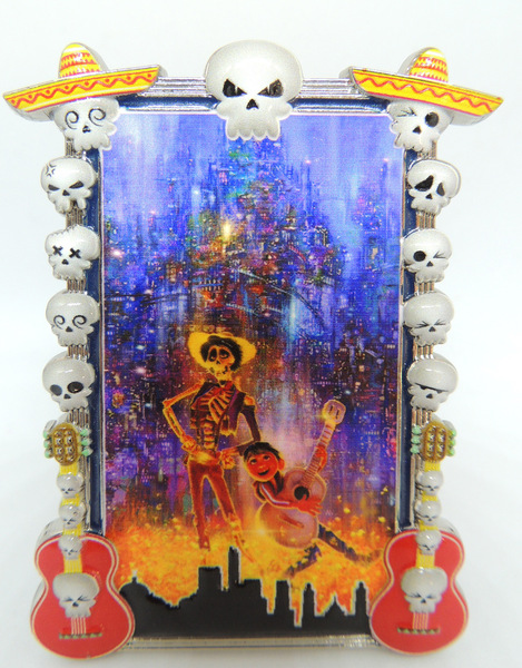 Coco painted frame pin