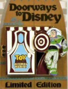 Toy Story Midway Mania - Doorways to Disney pin
