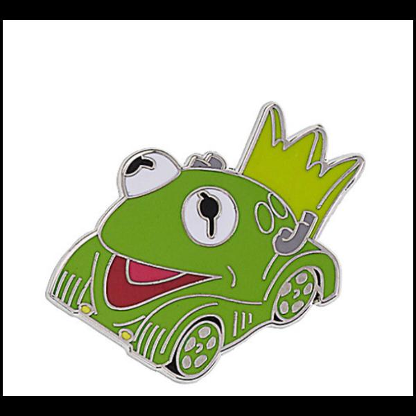 Kermit mini racer pin