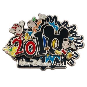2010 Mickey and Pals - Walt Disney World pin