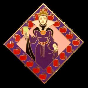 Disney Villains Deluxe Pin Trading Starter Kit - Evil Queen pin