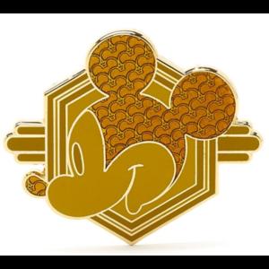Golden Mickey head pin
