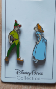 Peter and Wendy pin