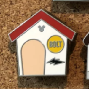 Bolt - Dog House Hidden Mickey pin