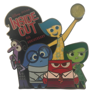 Inside Out 5th Anniversary pin