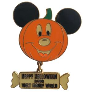 Happy Halloween 2002 pin