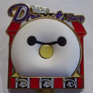 Baymax - Donut Shop pin