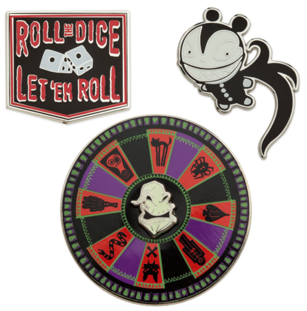 Oogie Boogie Roulette wheel pin
